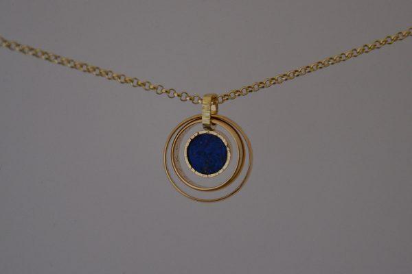 twee trouwringen lapis lazuli 5