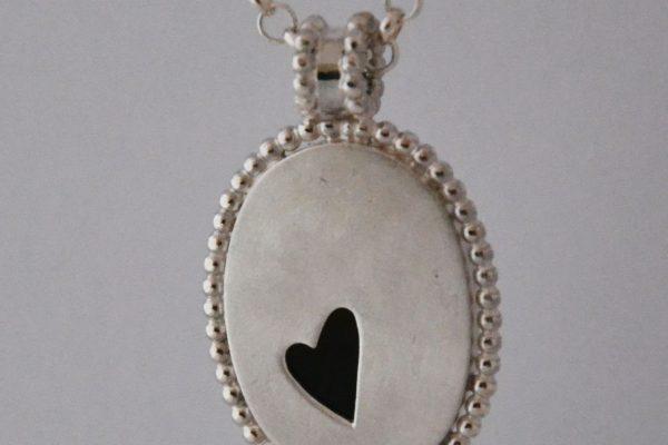 zilver met hart